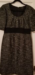 Tahari by Arthur S. Levine Tweed Dress